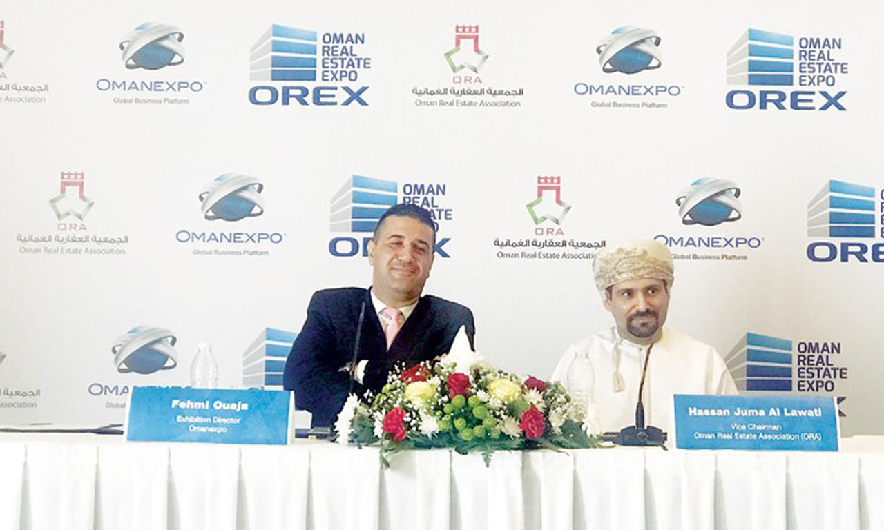 1st Oman Real Estate Exhibition and Conference set for March 2018